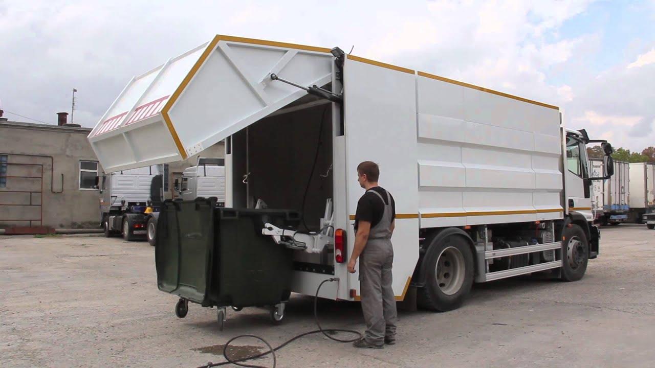 Машина для мойки контейнеров
